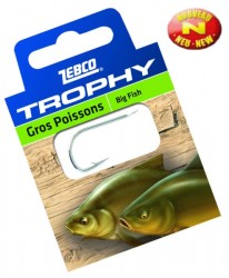 háčik zebco Trophy Big Fish, vel.12, 0.14mm, 0.5m