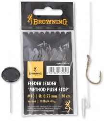 Feeder Leader Method Push Stop bronze 10cm 6ks