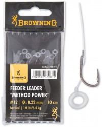 Feeder Leader Method Power Pellet Band bronze 10cm 6 ks