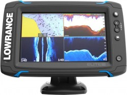 Dotykový sonar LOWRANCE Elite-7Ti so sondou na more