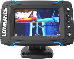 Dotykový sonar LOWRANCE Elite-5Ti so sondou na more