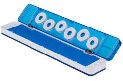 Krabička pre ukladanie nadväzcov s magnetickým uzáverom