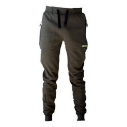 Nohavice FAITH s vreckami  na zips - olivová farba