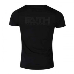 Tričko FAITH krátky rukáv - čierne