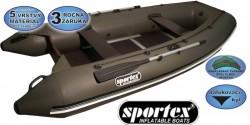 Sportex čln - Shelf pevná podlaha so stredovým kýlom