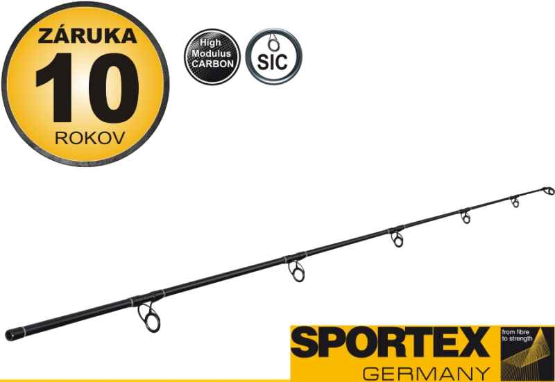 Sportex - dvojdielny prút - JOLOKIA PILK Black Edition 270cm /190-400g/