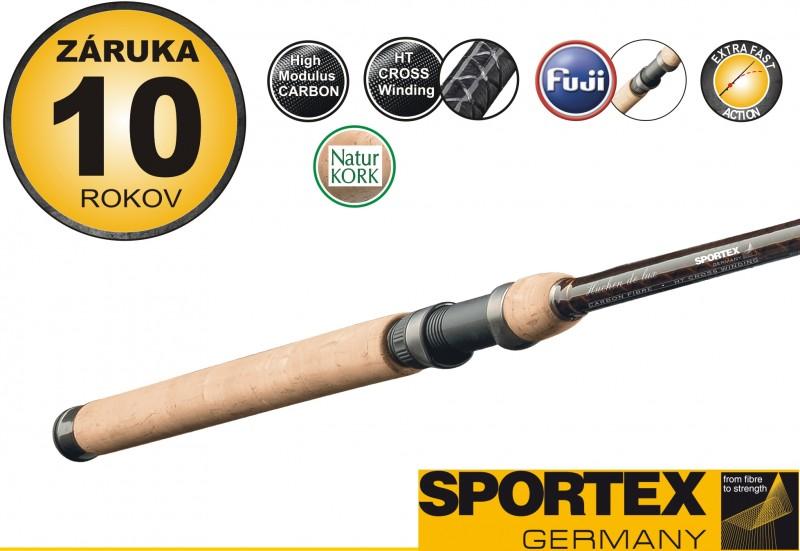 Rybársky prút SPORTEX - HUCHEN DE LUX - dvojdielny
