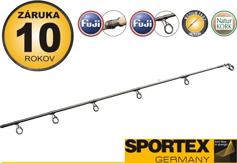 Rybársky prút na more SPORTEX - KEV SEA SPIN - 2diel