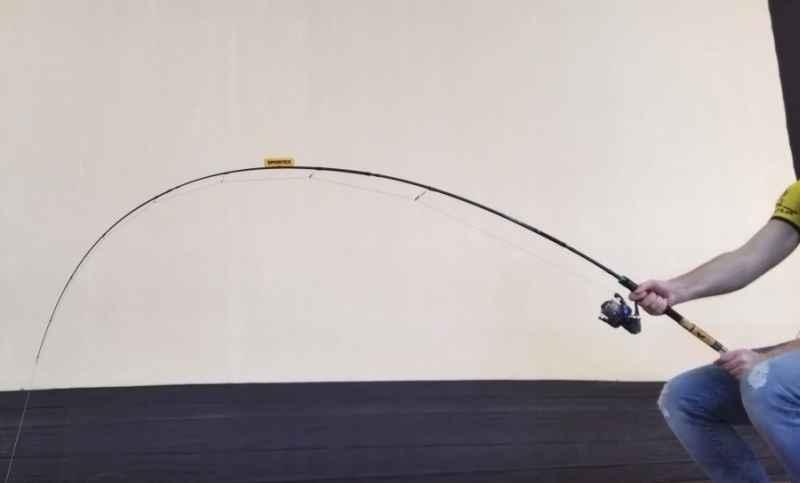 Prívlačový prút SPORTEX NOVA Travel - štvordielny PT2411,240cm,20g, Tr.dĺžka 65cm
