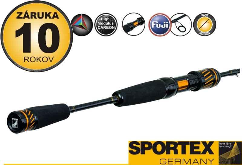 Prívlačový prút SPORTEX Black Arrow G2 ultra light