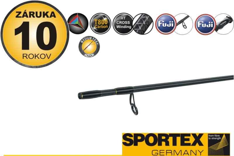 Prívlačový prút SPORTEX TIBORON ultra light TB2400 2,40m, 1-7g, 2 diel