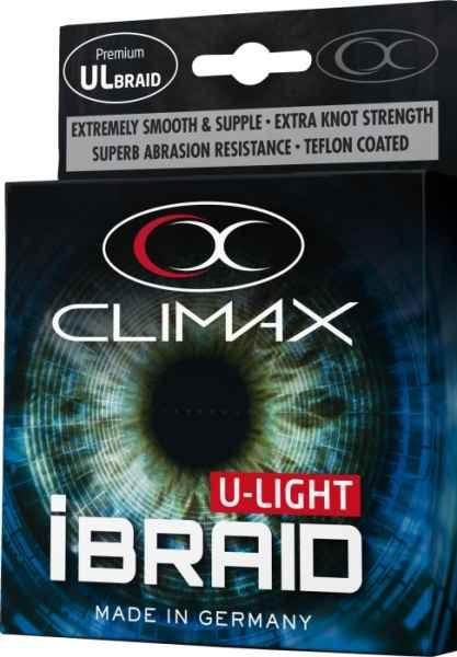 Pletená šnúra Climax iBraid U-Light neon-zelená 135m Priemer: 0,06mm / 4,5kg