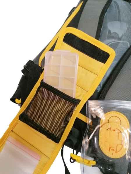 SPORTEX modulárny batoh s opaskom + 5ks krabičiek Rozmer: 48 x 35 x 18cm