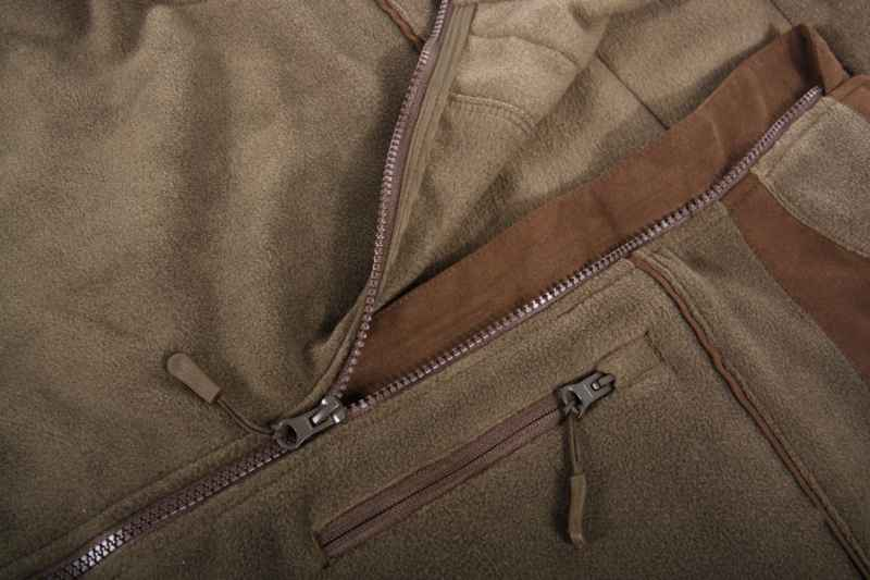 Rybárska mikina so zipsom SPORTS Veľkosť: XXL