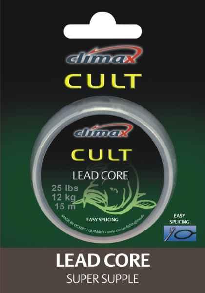 Climax šnúra 10m - LEAD Core WEED WEED - Priemer 0,25mm / 12,4kg /25lbs