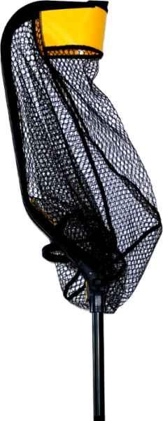 Pogumovaný rybársky podberák SPORTEX Veľkosť: 60x50cm, dĺžka: 141,5cm