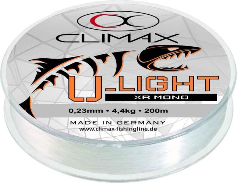 Silon Climax U-Light XR Mono transparent 200m Priemer: 0,18mm Nosnosť: 3,0kg